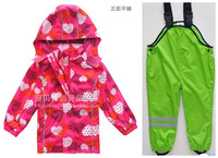2014 New Topolino Children Weatherproof Waterproof Ski Biking Skiing Traveling Hiking High Quality Children S Clothing