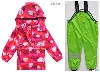 2014 New Topolino Children Weatherproof Waterproof Ski Biking Skiing Traveling Hiking High Quality Children S Clothing