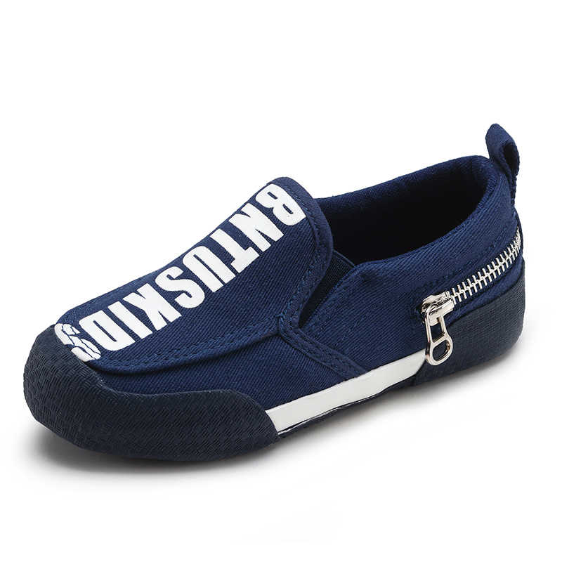 686e203bb6a17 ... Top Quality Kids Canvas Shoes for girls Children shoes boys Fashion  2019 Spring Children sneakers Black ...