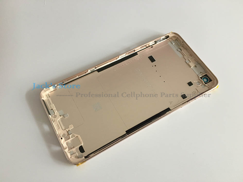 For OPPO R9 R9tm Battery Cover Case Original Mobile phone metal Door Housing Rear Back Cover