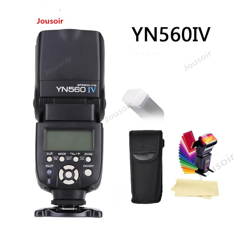 Émetteur-récepteur Flash Speedlite sans fil YN560 IV 2.4 GHZ intégré pour caméra C/N/S/O/F CD50 T03