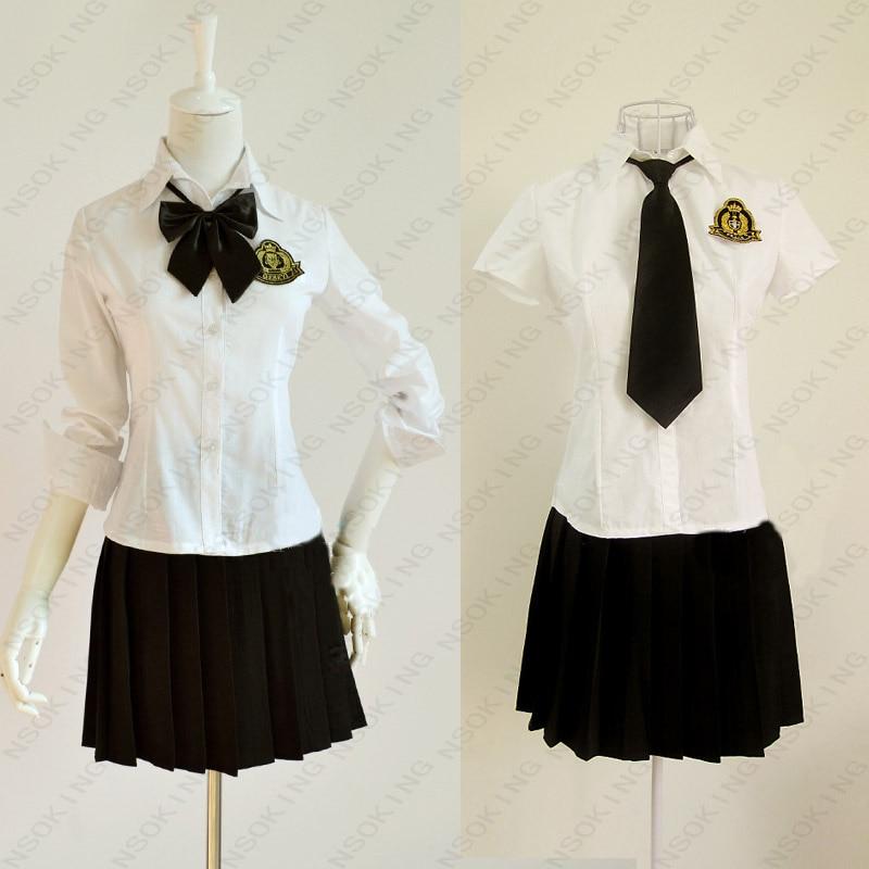 Nouveau britannique académisme bleu marine noir jupe uniforme japonais mode femmes fille uniformes scolaires costume grande taille S-XXXXL