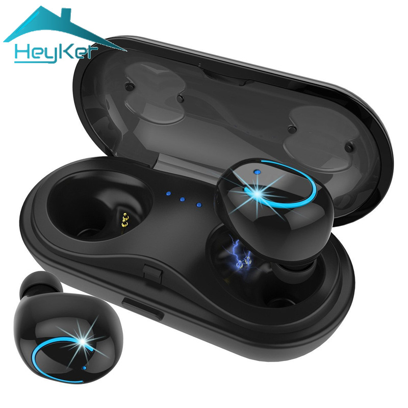 2018 Mini TWS Auricolari Bluetooth auricolare Senza Fili Auricolare Stereo Hifi Blutooth Auricolari fone de ouvido sem fio audifono Impermeabile