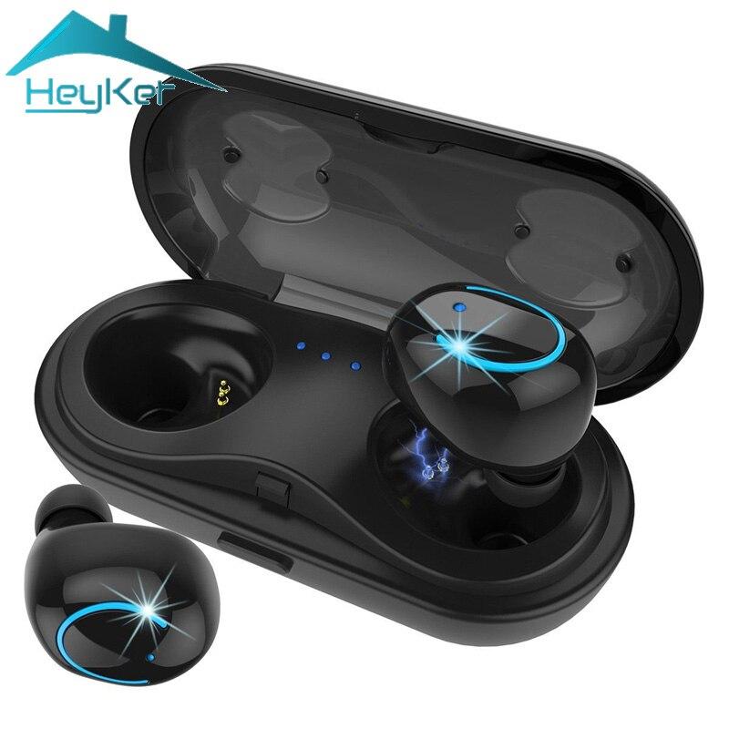2018 Mini TWS Bluetooth Écouteurs Sans Fil ecouteurs Casque Stéréo Hifi Blutooth Écouteurs fone de ouvido sem fio audifono Étanche