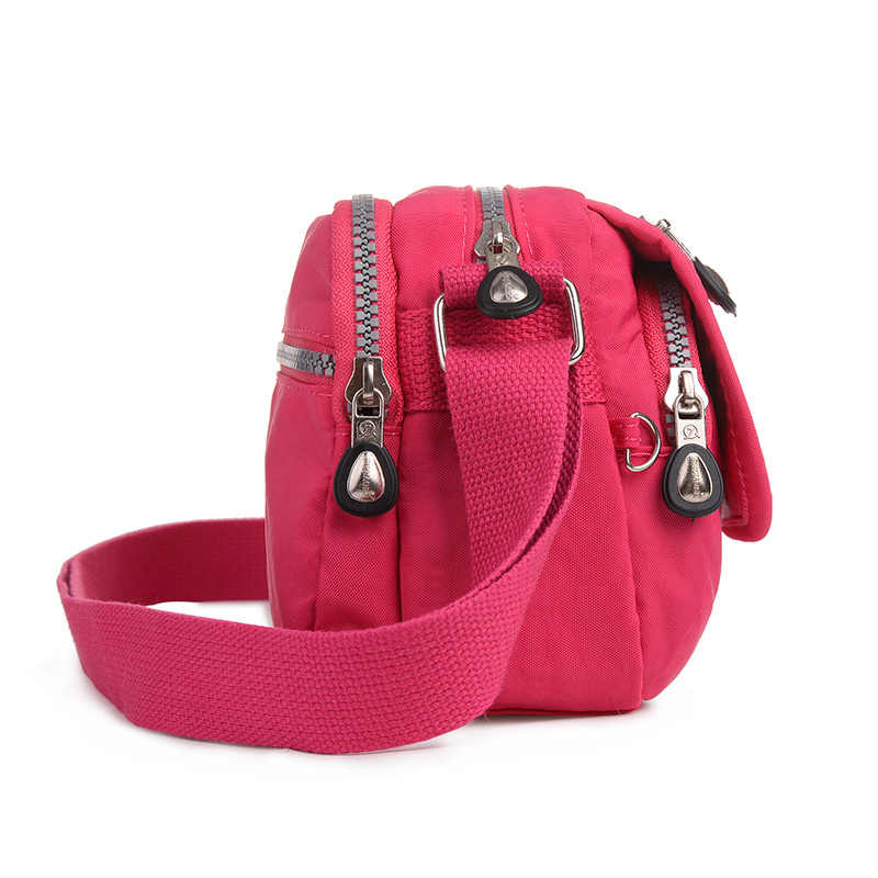 Wanita Tas Fashion Gaya Baru Crossbody Bag Bolsa Feminina Nylon Tahan Air Wanita Messenger Tas