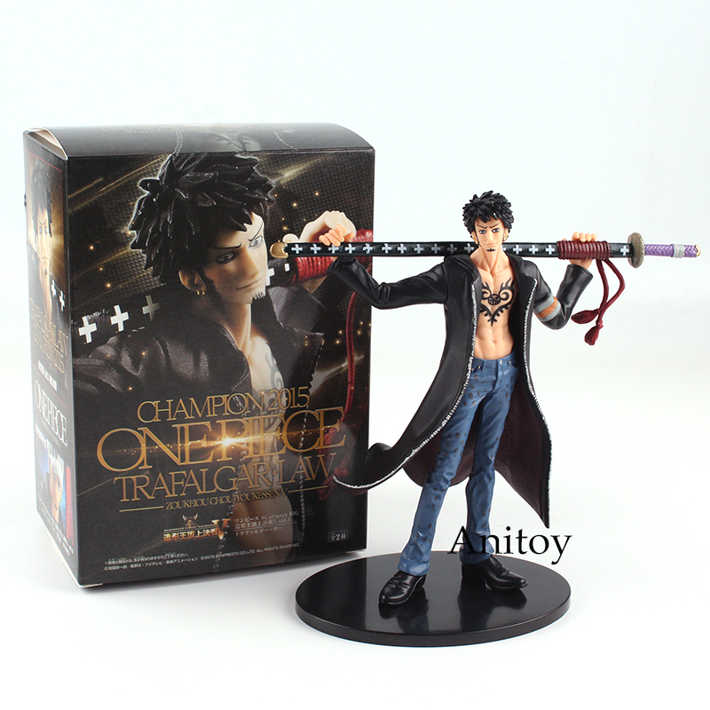 Anime One Piece Trafalgar Law PVC Action Figure Collection Model Toy Gift 17cm overbearing arrogance law anime one piece pvc action figure classic collection model garage kit doll toy