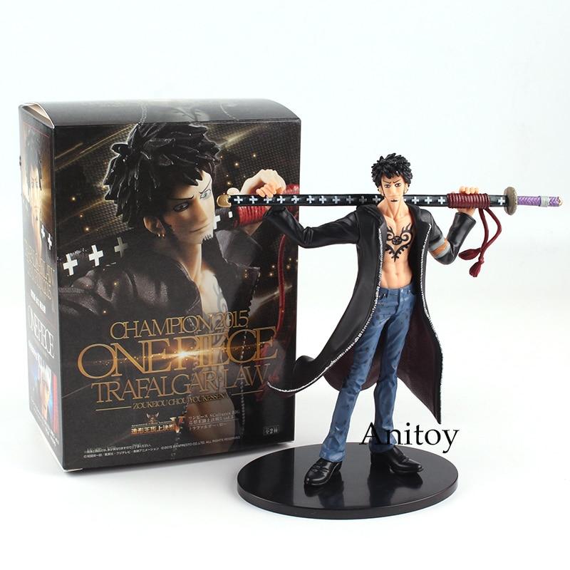 Anime One Piece Trafalgar Law PVC Action Figure Collection Model Toy Gift 17cm стоимость