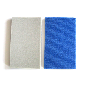 Image 2 - 10PCS เปียกแห้ง Flocking ฟองน้ำขัด Self adhesive แผ่นกระดาษทรายรูปสี่เหลี่ยมผืนผ้า 58*100 มม.300 3000 กรวดขัดขัดเครื่องมือ