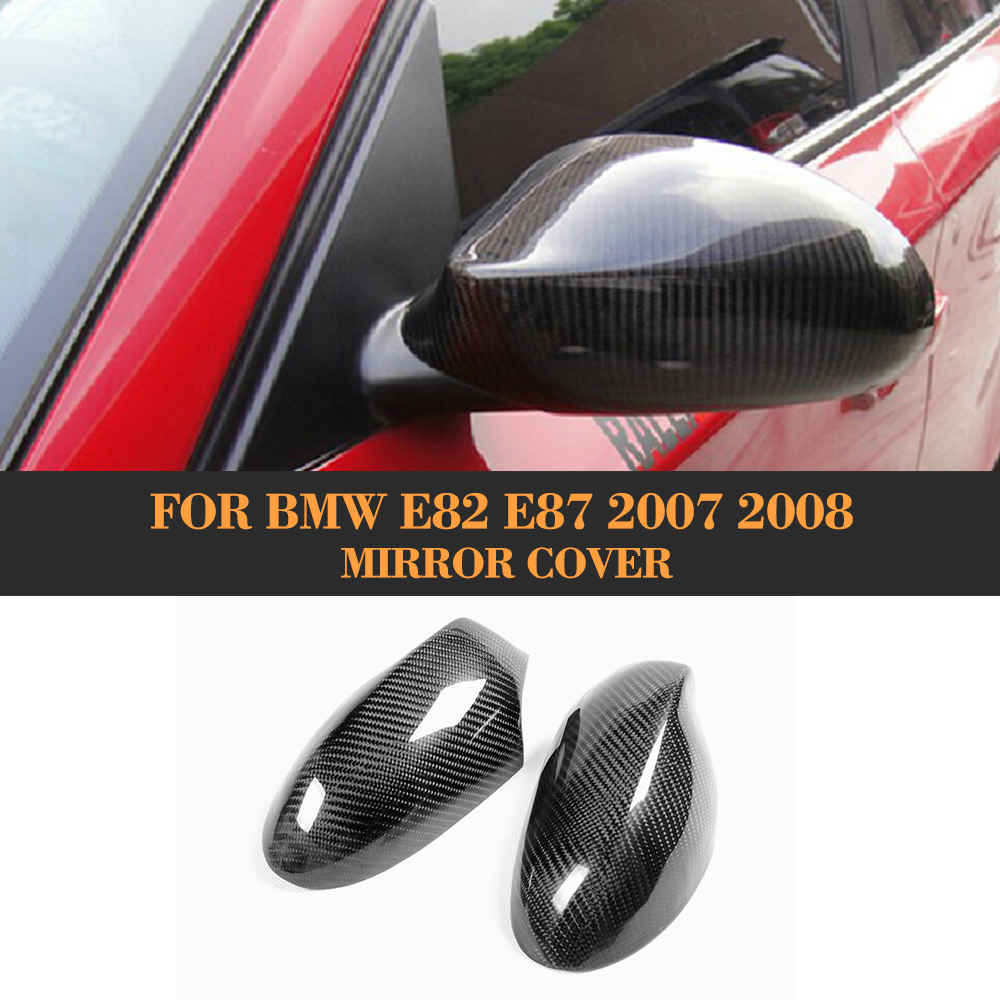 Carbon fiber Wing Mirror Cover for BMW 1 Series E82 120i 130i 135i Coupe Convertible Hatchback 2005-2008 bmw 645 ci cabrio convertible 1 24