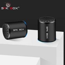 SPK KUTUSU 2 Paket TWS Sistemi kablosuz bluetooth Hoparlörler Metal Taşınabilir Mini Stereo Ses Hoparlör MP3 Müzik Çalma Mikrofon 3 W