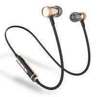 H6 Беспроводной наушники Bluetooth с защитой от пота, спортивные наушники с микрофоном бас стерео наушники для спорта мобильного телефона iPhone ...