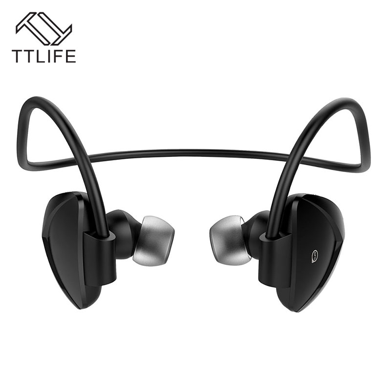 TTLIFE Waterproof Bluetooth Earphone With Mic NFC Wireless Earphones CVC6.0 Noise Cancelling Headset for Phone/Andriod remax t11c bluetooth earphones 2in1 mini earbuds with dual usb car charger wireless car headset cvc noise cancelling for phone