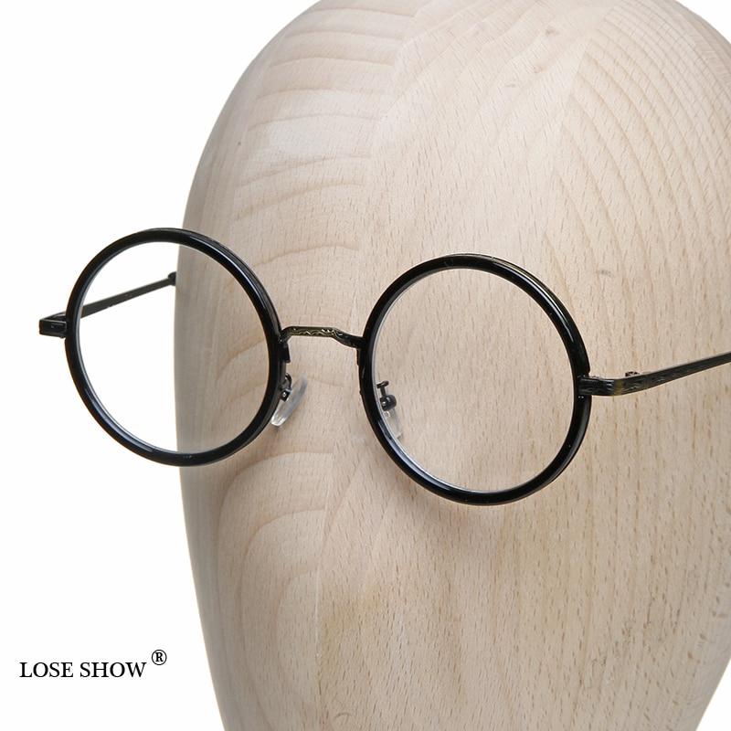 Pierde espectáculo gafas pequeñas de montura redonda vintage círculo ...