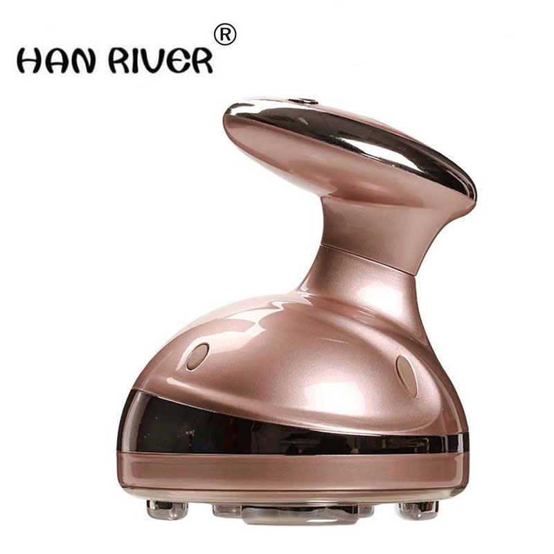 2018 LED Portable Ultrasonic Body Slimming Massager Cavitation Fat Removal Photon Radio Frequency RF Therapy For Weight Lose ultrasonic facial body slimming massager rf cavitation therapy fat removal burner led photon skin rejuvenation for weight loss