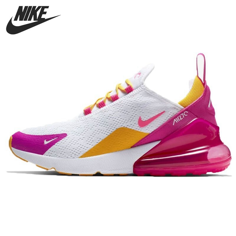 nike baskets air max 270 chaussures de course femme blanc