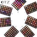Tz 35 color sombra de ojos paleta de colores de color tierra nacarado maquillaje profesional