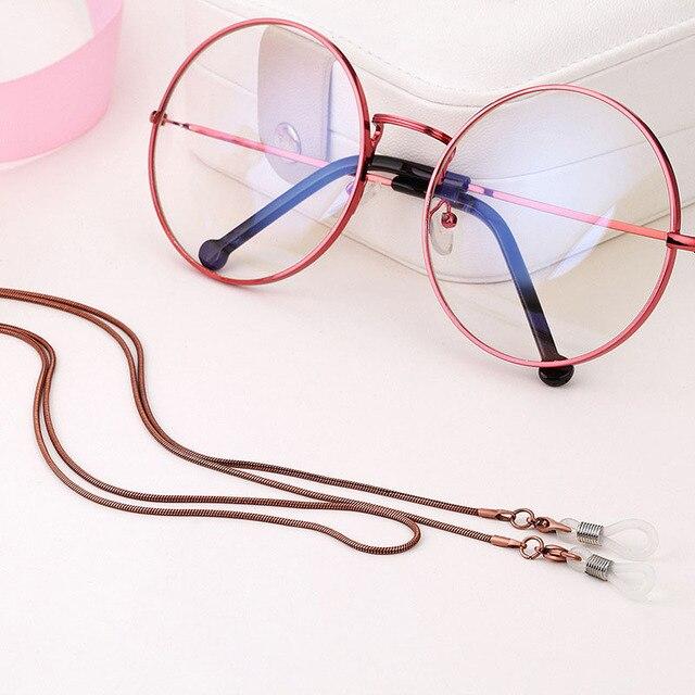 New Copper String Eyeglasses Chain Reading glasses Metal Cords ...