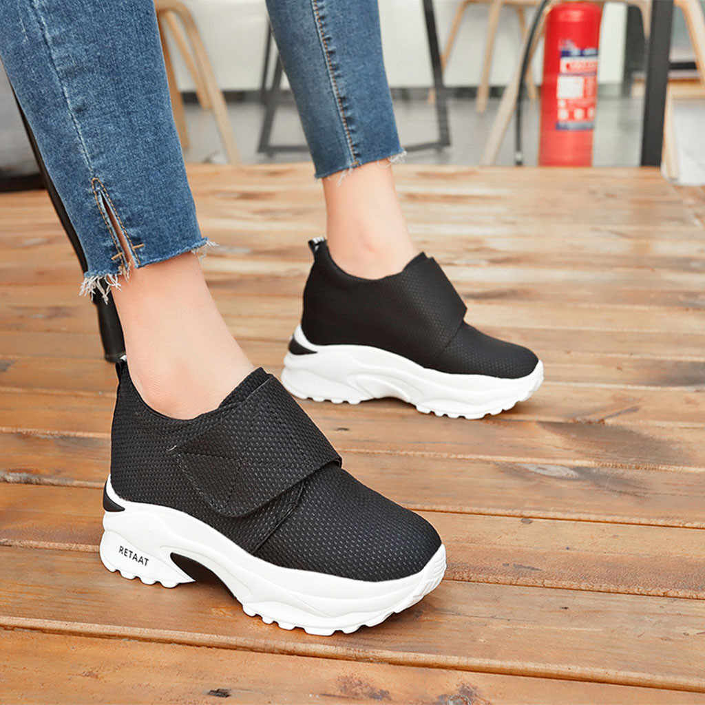 44145e0edaf8f 2018 new fashion Womens Fashion Casual running shoes for women Thick  Platform Sport Shoes Sneakers Lady
