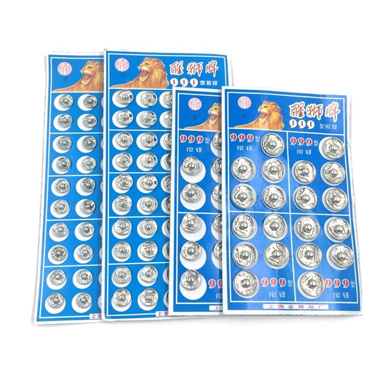 Кнопка-застёжка Пресс Кнопка Стад Покрытие Круглый Швейные Аксессуар 8,5 мм/10 мм/12 мм/14 мм