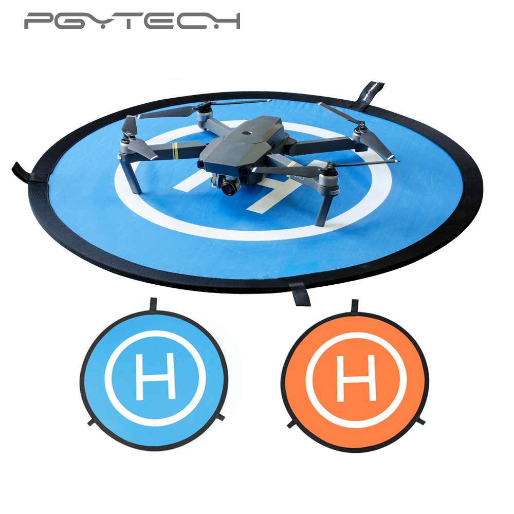 PGYTECH DJI Protective Fast-fold Drone Landing Pad For DJI Mavic Pro Spark Phantom 3 4 inspire 75cm Station Apron Portable Pour easttowest portable fast fold 75cm drone landing pad for dji mavic pro spark mavic air phantom 2 3 4 drone quadcopter