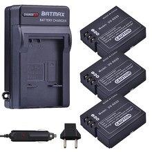 DS-SD20-baterías SD20 DS SD20 + cargador de pared para Rollei 3S 4S ActionPro SD20F WiF Rollei 3S, 3 uds.