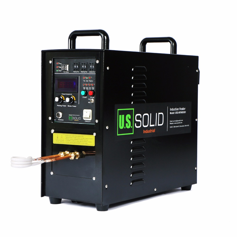 15KW 30-80 KHz High Frequency Induction Heater Furnace Induction Heater 110V One Year Warranty motor jw7114 370w 1400 turn induction motor warranty for one year