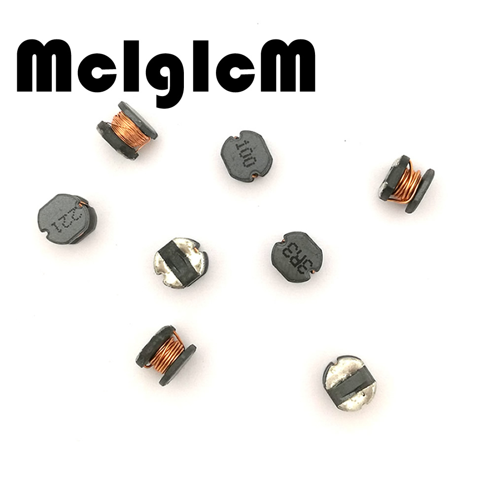 20PCS CD54 100uH 101 SMD Power Shielded Inductors 5.8x5x4.5mm