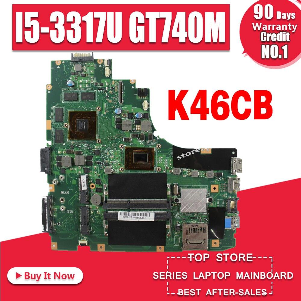 K46CM Motherboard i5 CPU GT740M For ASUS K46CB K46CM K46C A46C Laptop motherboard K46CM Mainboard K46CM Motherboard test 100% OKK46CM Motherboard i5 CPU GT740M For ASUS K46CB K46CM K46C A46C Laptop motherboard K46CM Mainboard K46CM Motherboard test 100% OK
