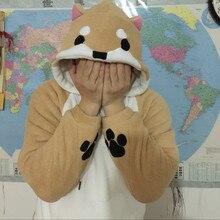 Harajuku Japanese Kawaii Hoodies With Ears Winter Plush