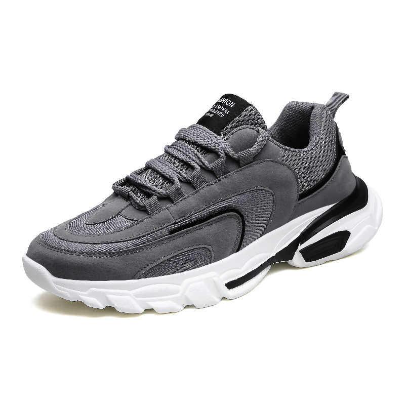 19 nouveau déodorant respirant maille hommes chaussures décontractées Version coréenne chaussures hommes blanc homme baskets chaussures à lacets rouges chaussures noires