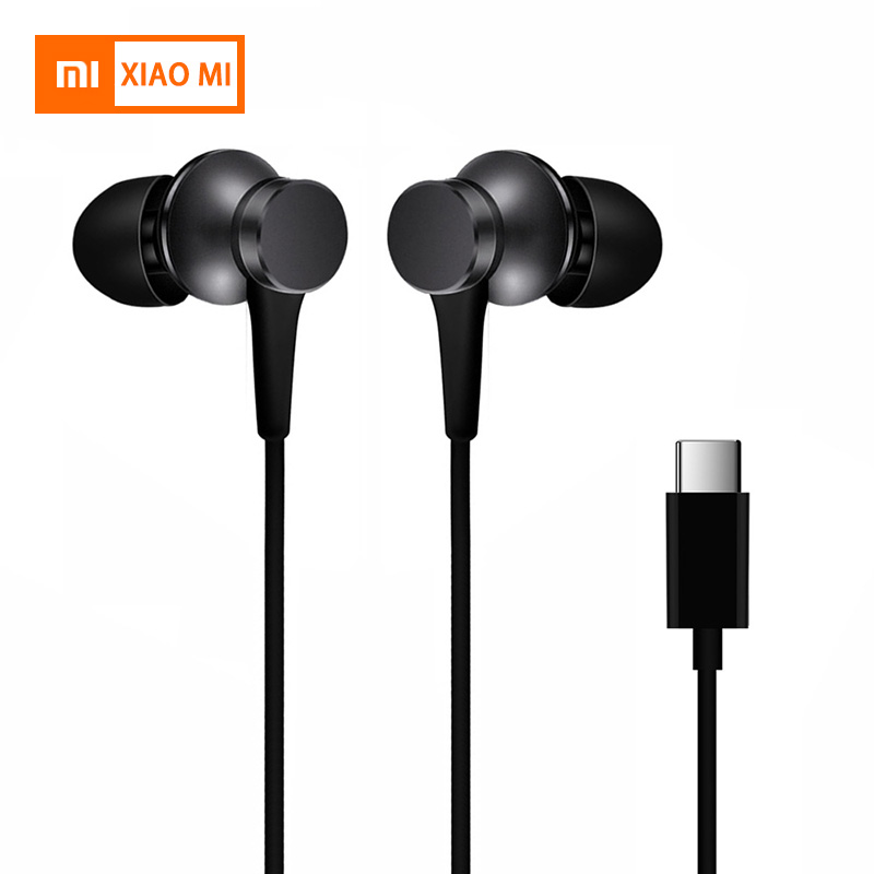 Xiaomi Piston 3 Earphones USB Type-C Mi 3.5mm Fresh Edition Earphone Headset with Mic for Xiaomi Mi 6/8 Huawei Earphone Earbuds(China)