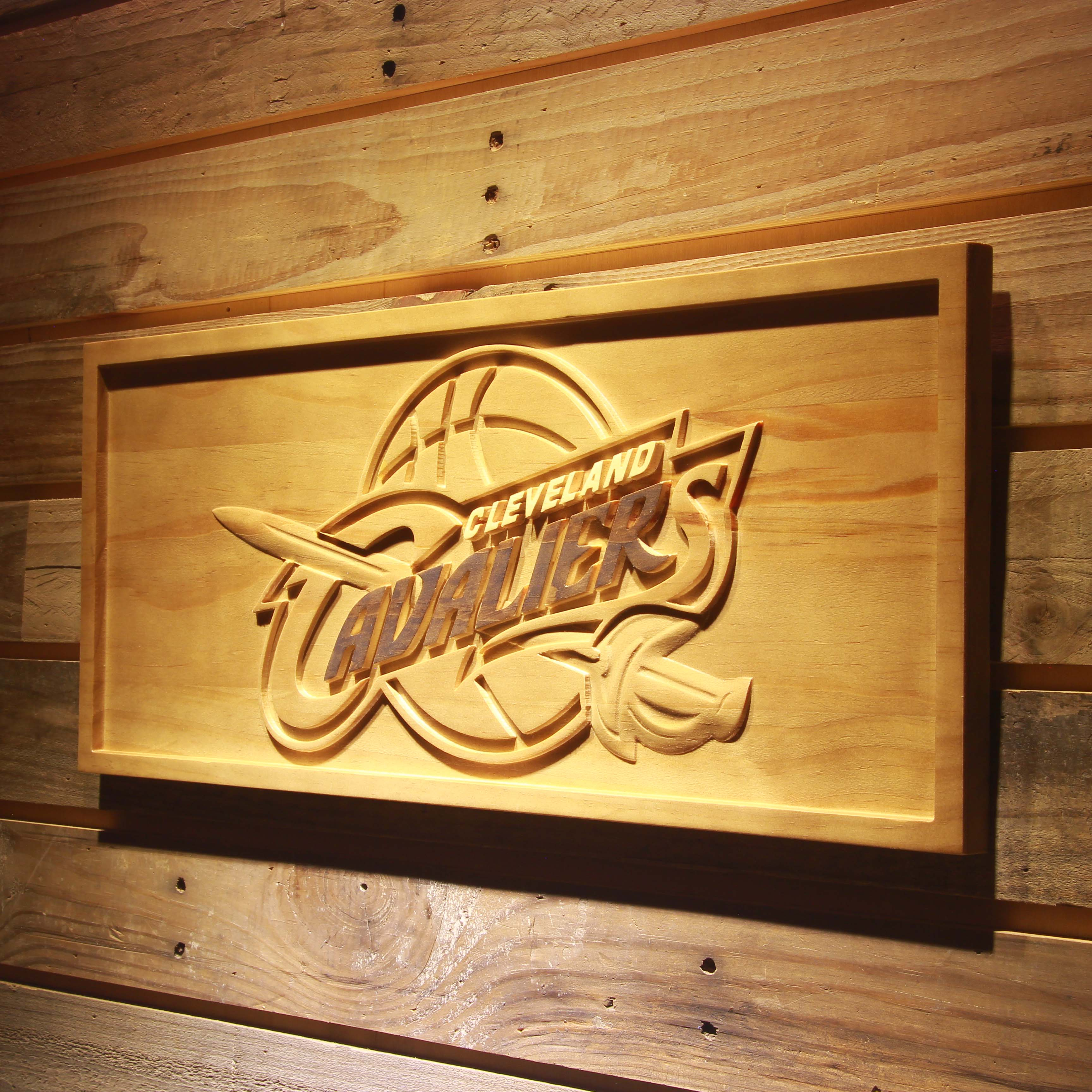 Cleveland Cavaliers 3D Wooden Sign-in Plaques & Signs from Home ...