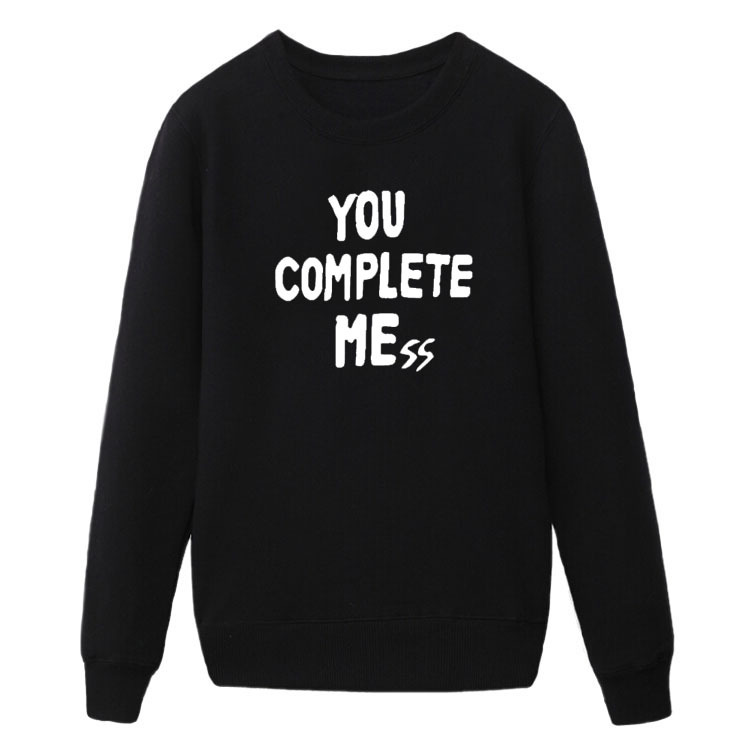 New You Complete Mess Me 5SOS Five 5 Seconds Of Summer Luke Hemmings Mens Clothing hoodies sweatshirt free shipping