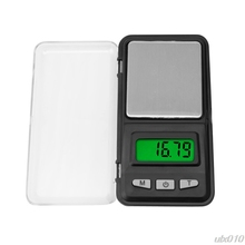 Pocket Digital Scale 200g 0.01g Mini Digital Scale Tool Jewelry Gold Balance Weight Gram LCD Scale S18 Drop ship