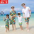 Family Clothes For Mother And Daughter Dress Father And Son Sets Cotton Family Outfit Bohemian Family Matching Outfits Print