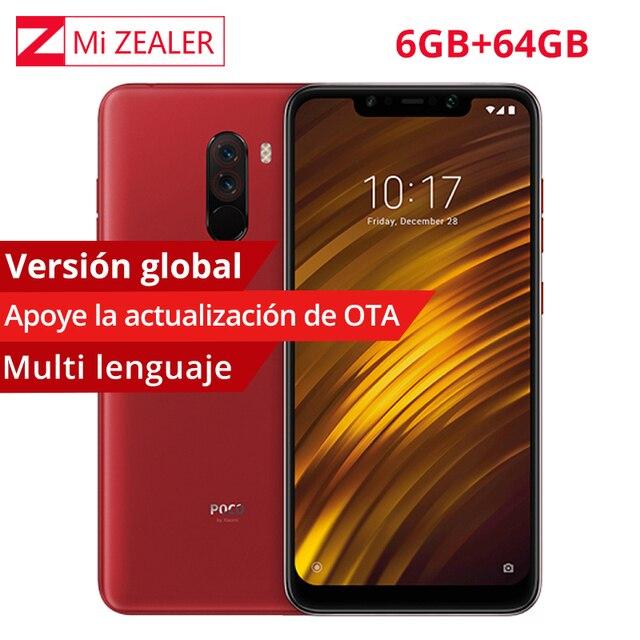 Versión Global Xiaomi teléfono móvil F1 6GB RAM 64 GB ROM teléfono móvil Snapdragon 845 Octa Core 12MP Dual AI IR cara desbloquear