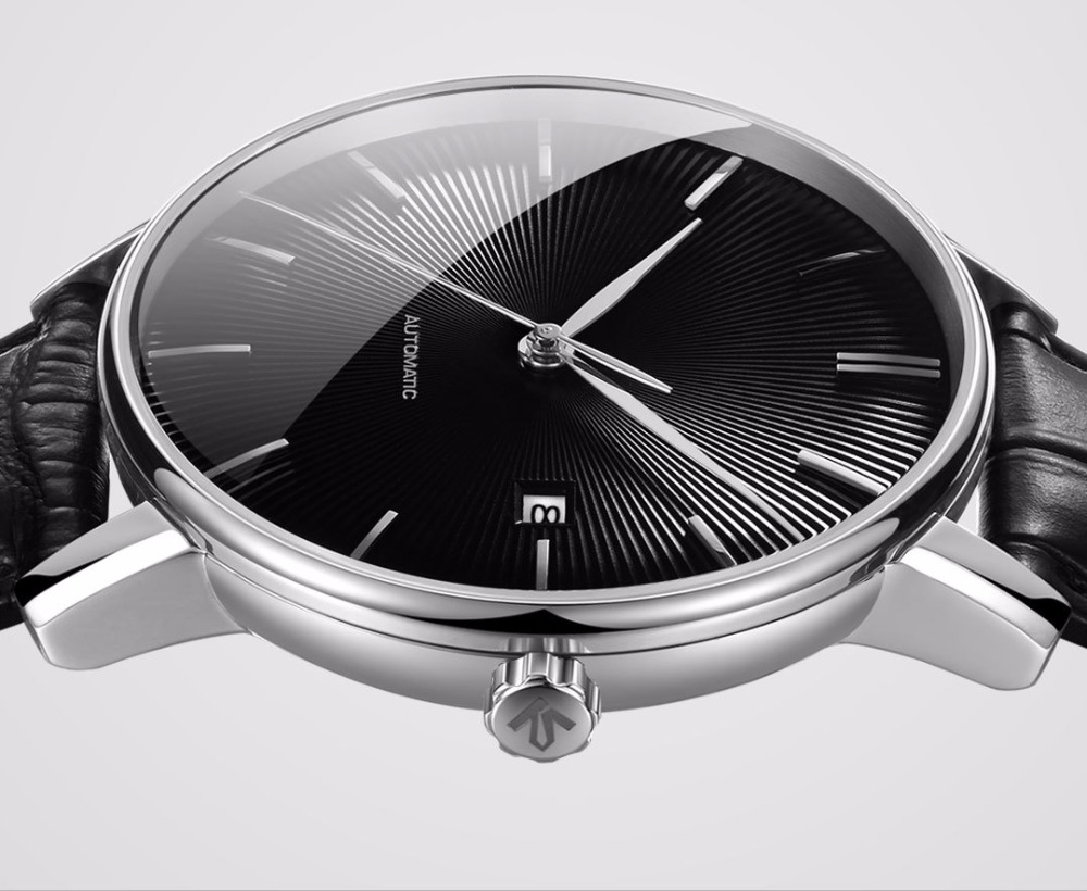 Image 3 - Original xiaomi mijia TwentySeventeen Mechanical watch With Sapphire Surface Leather Strap Fully automatic mechanical movement-in Smart Remote Control from Consumer Electronics