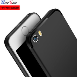 HereCase For IPhone SE case iphone 5S case Luxury High Quality Ultra Thin Scrab Silicone fProtective Cover case For IPhone 5S SE 2
