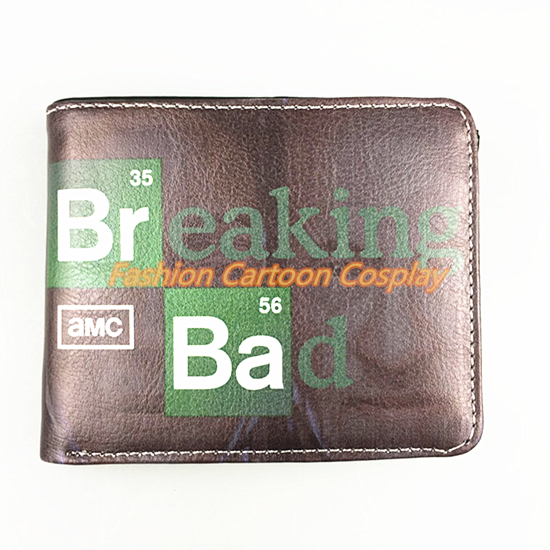Men Wallets Breaking Bad Purse Harry Potter Purses Sherlock Wallet Baellerry Pouch Young Student Personality Purse