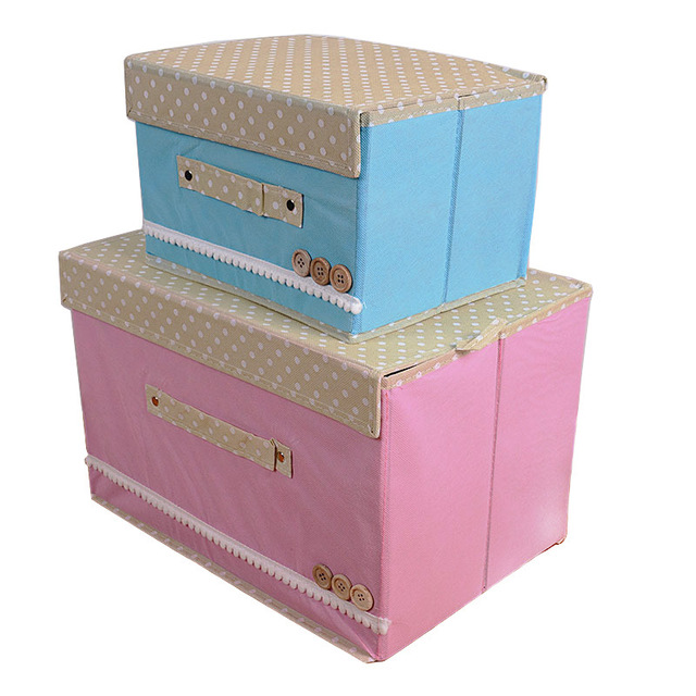 Underwear Storage Bins Clothing Storage Boxes Clothing Boxes Holder Health  Non Woven Fabric Household Receive Case