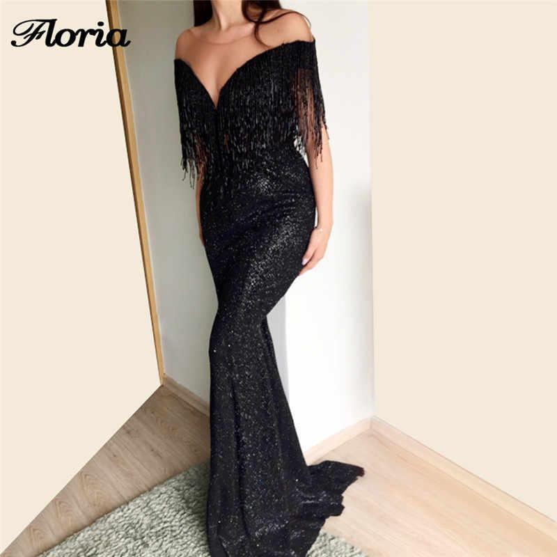 9c2e36d5e7 Arabic Beading Mermaid Evening Dresses 2018 New Robe de soiree ...