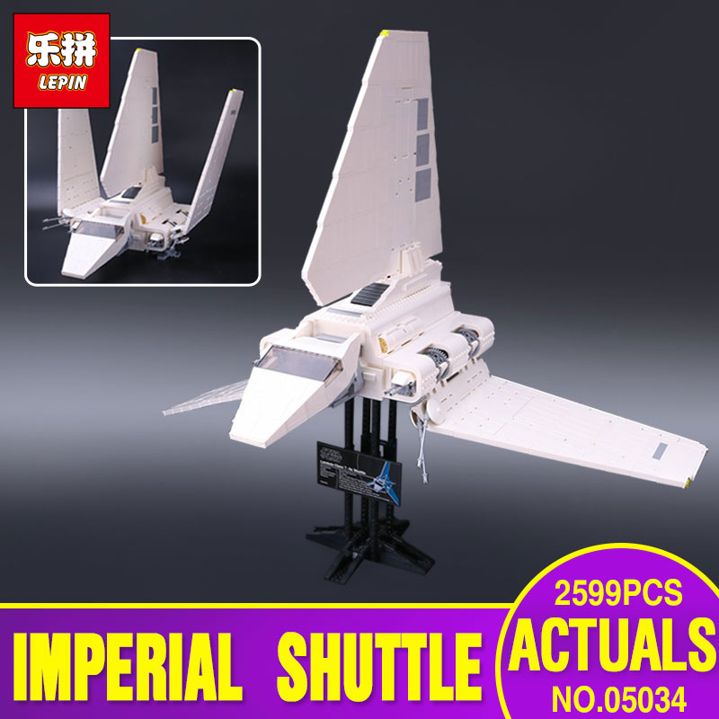 LEPIN 05034 Genuine Star War Series The Imperial Shuttle Educational Building Assembled Blocks Bricks Toys Compatible with 10212 lepin 22001 pirates series the imperial war ship model building kits blocks bricks toys gifts for kids 1717pcs compatible 10210