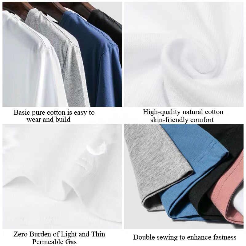 2019 מכירה לוהטת T חולצה גברים צבע 100% כותנה קצר שרוול כבוי לבן חולצות קיץ חולצת טי חולצות אירופאי גדול גודל streetwear
