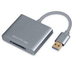 XQD 2.0 USB 3.0 Card Reader, ad alta Velocità In Lega di Alluminio lettore di Schede di Memoria Flash per Sony per Nokia Fotocamera kit Scheda XQD