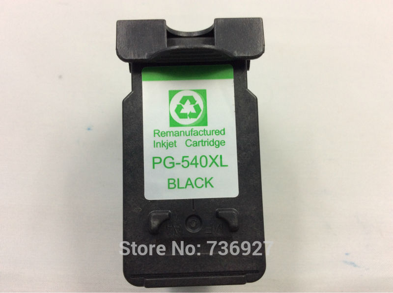 1PK Black Remanufactured inkjet cartridge pg540xl for ...