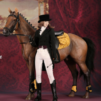 1/6 Soldier Scene Accessories Equestrian Suit (including horse racing)