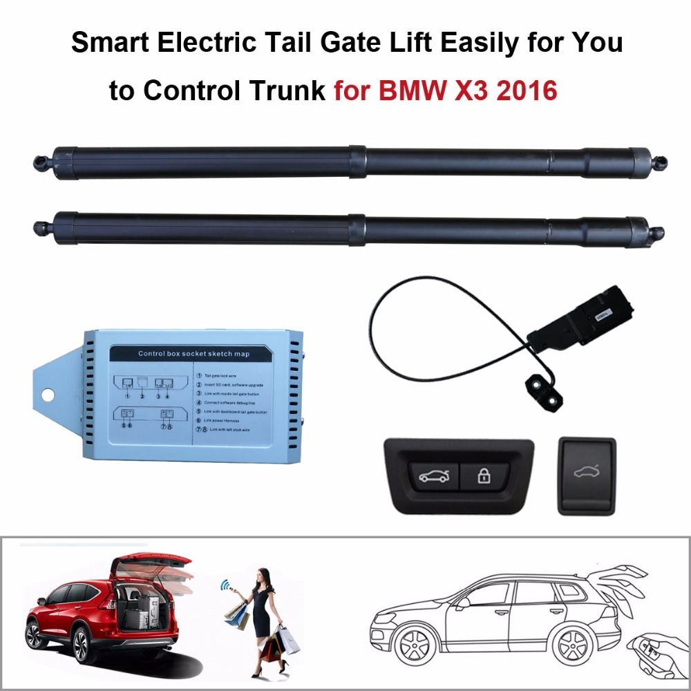 Electric Tail Gate Lift for BMW X3 2016 Control by Remote