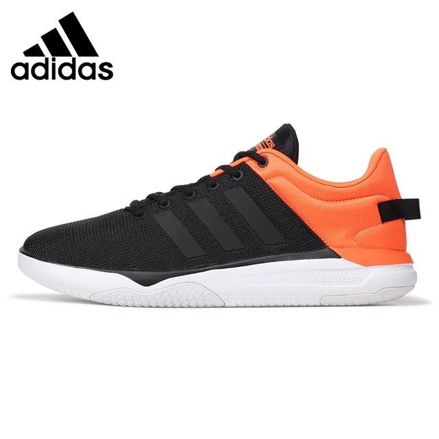 best sneakers 1ce2e 4f530 Original nouvelle arrivée 2017 adidas neo étiquette cloudfoam swish hommes  de planche à roulettes chaussures sneakers