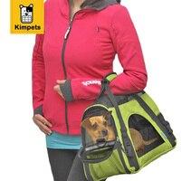KIMHOME PET Dog Carrier Soft Sided Large Cat Dog Comfort Rose Wine Pink Bag Travel Approved