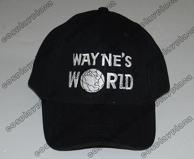 Wayne's World baseball Hat costume cap Mundo Waynes